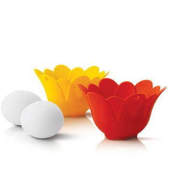 SiliconeZone Cuoci uova – set da 2 pezzi