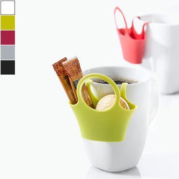 Koziol Porta oggetti da bicchiere JESSI – set da 4 pezzi