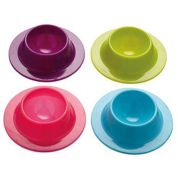 Colourworks Portauova in silicone – set da 4 pezzi