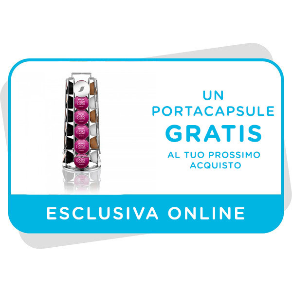 Portacapsule gratis al tuo prossimo acquisto sul sito Immagine