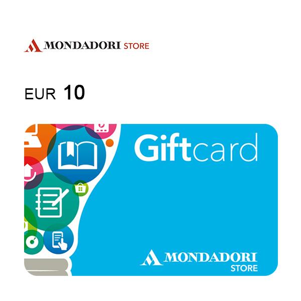 Carta regalo Mondadori da 10€ Immagine