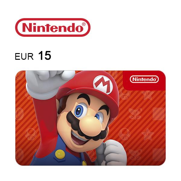 Carta regalo Nintendo da 15€ Immagine