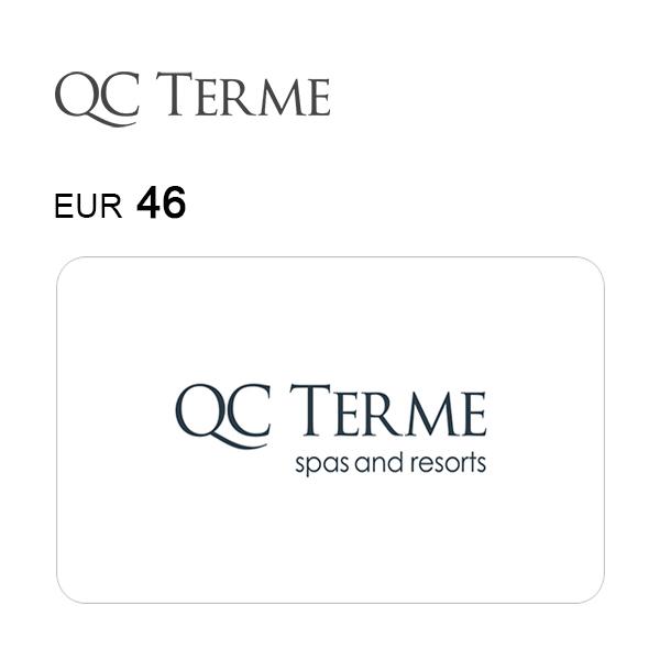 Carta regalo QC Terme da 46€ Immagine