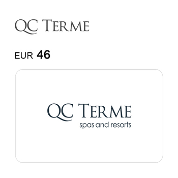 Carta regalo QC Terme da 46€