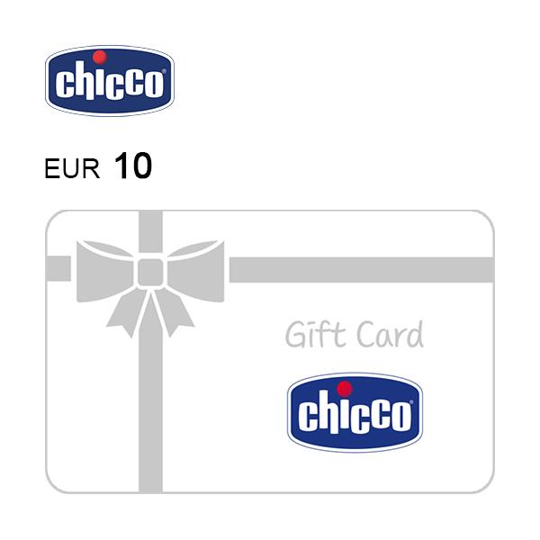 Carta regalo Chicco da 10€ Immagine