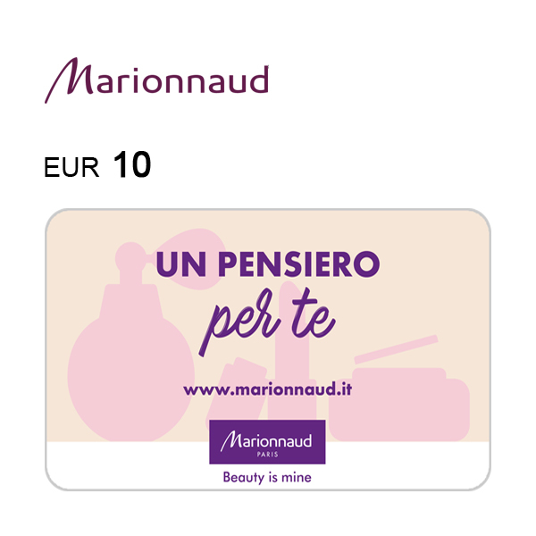 Carta regalo Marionnaud da 10€ Immagine