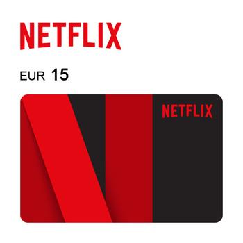 Carta regalo Netflix da 15€