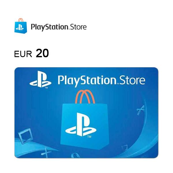 Carta regalo PlayStation®Store da 20€ Immagine